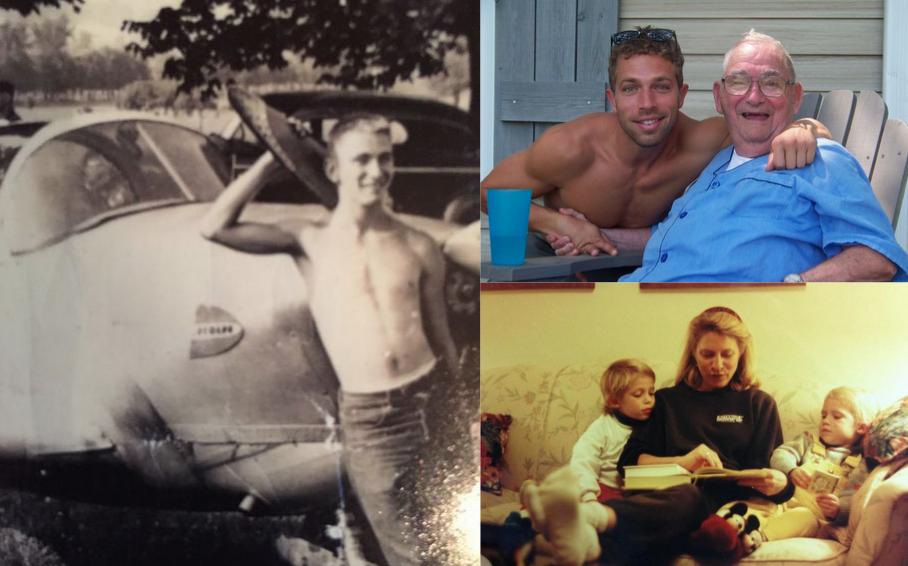 Like grandfather, like mother, like son