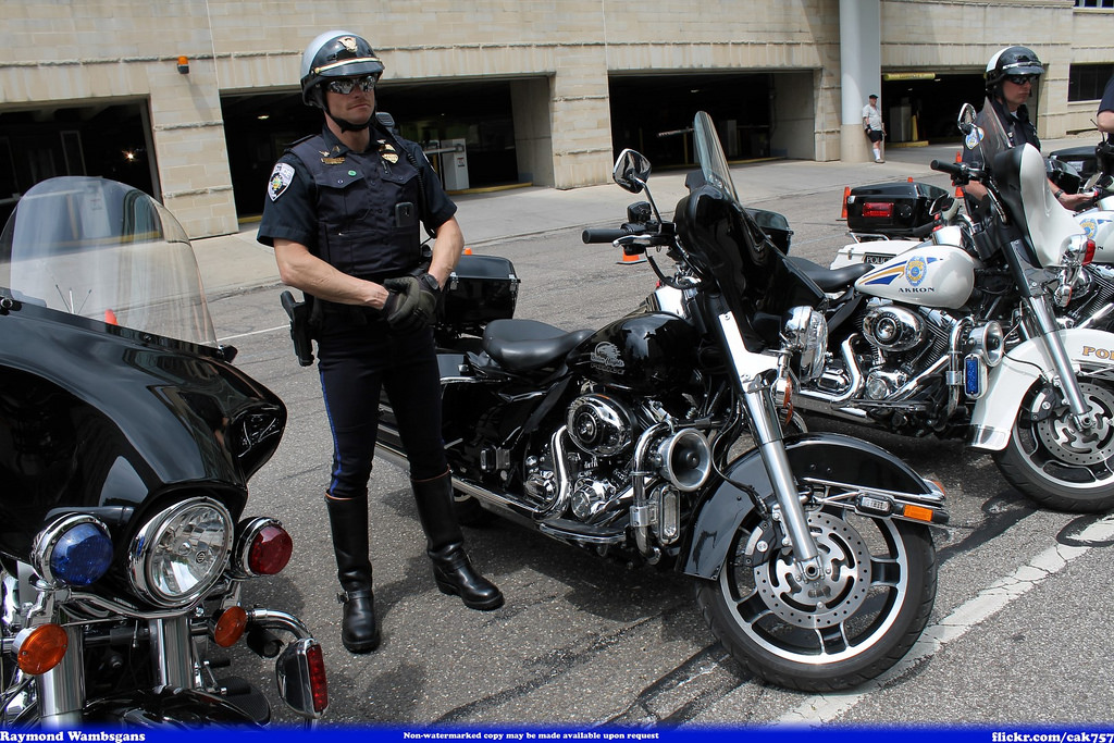 Boston Heights Police Motorcycle