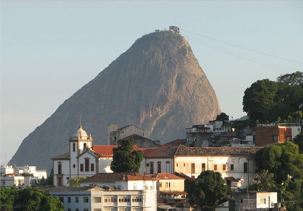 Bairro de Santa Teresa e convento - Rio de Janeiro