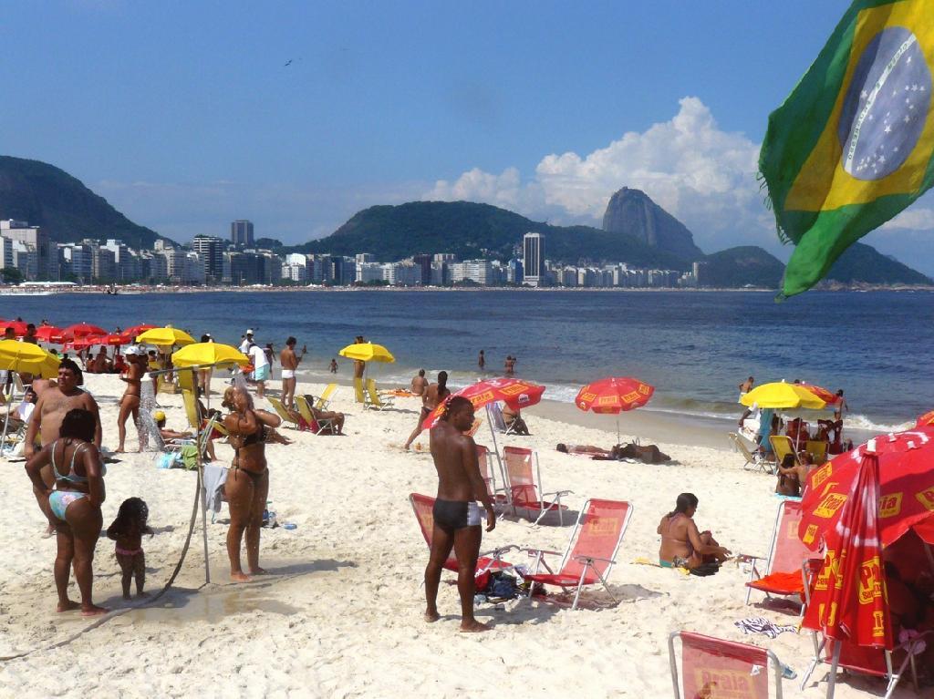 Praia de Copacabana (Copacabana beach)
