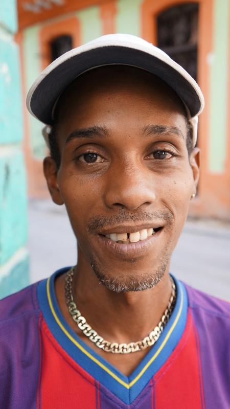 Lazaro. 38 years old. Nurse. Havana, Cuba.