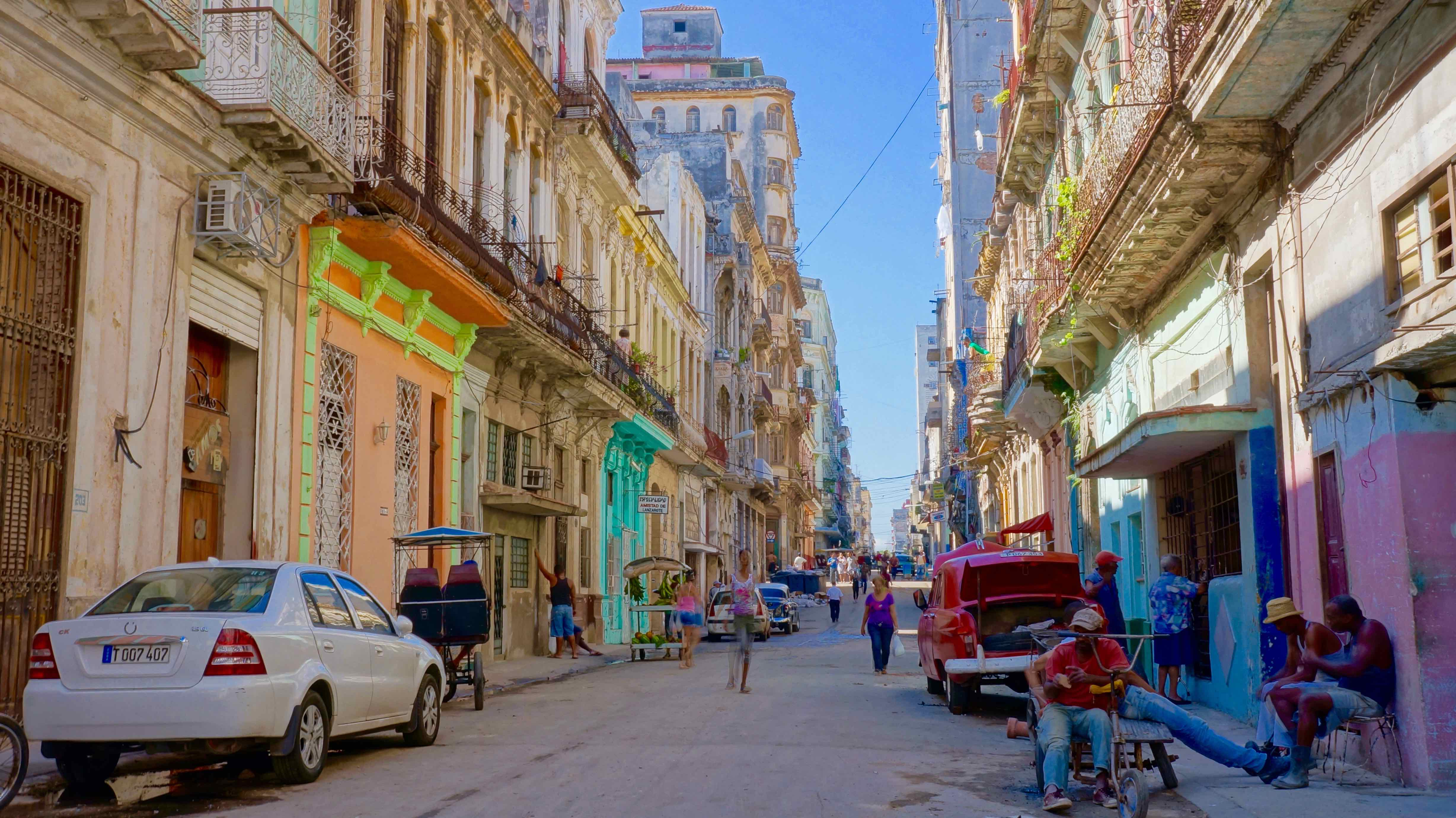 backpacking in cuba